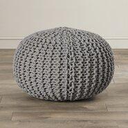 Kahn Sphere Pouf Ottoman