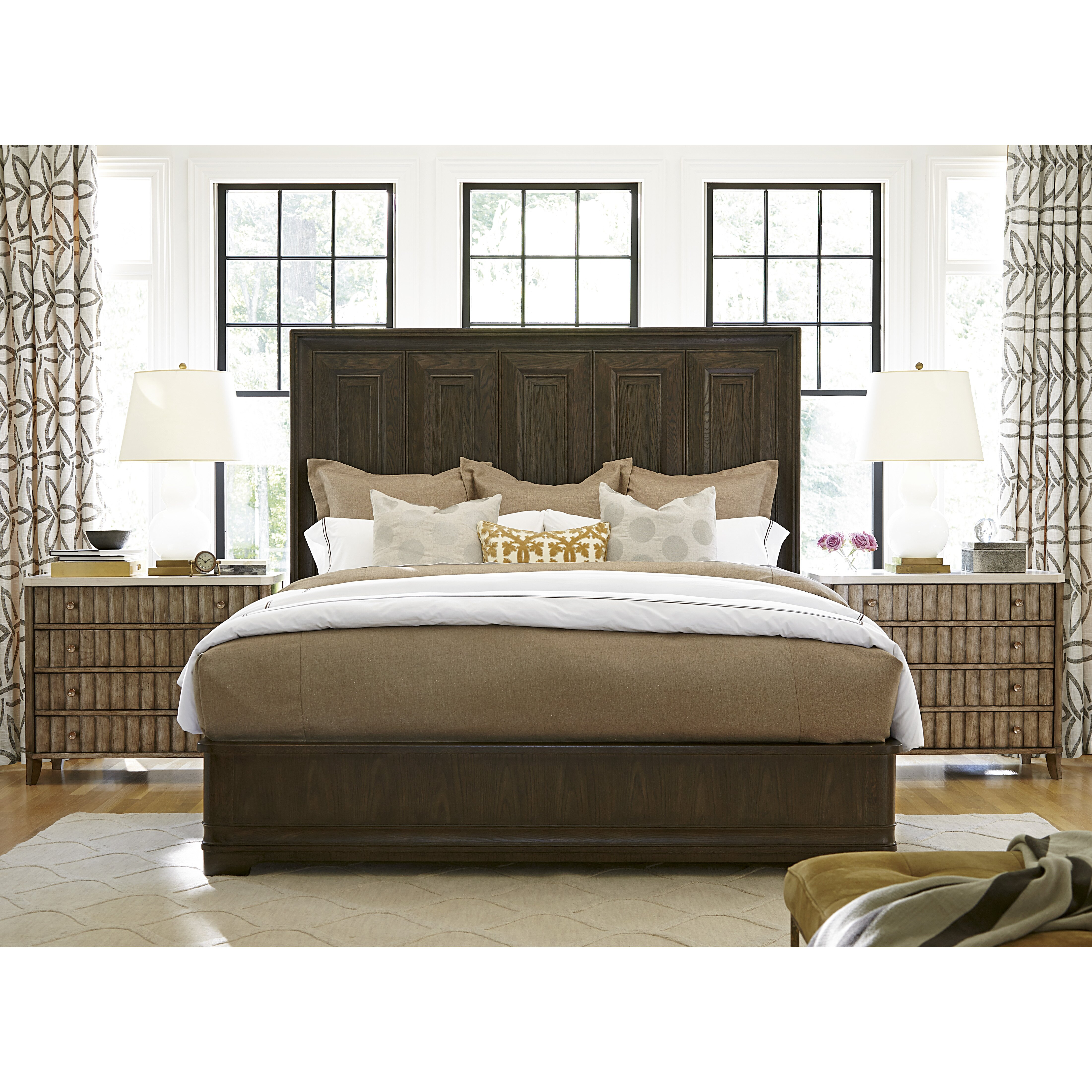 Panel Bed Plete  On Universal Furniture Panel Bed California