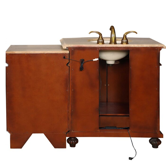 52 inch bathroom vanity