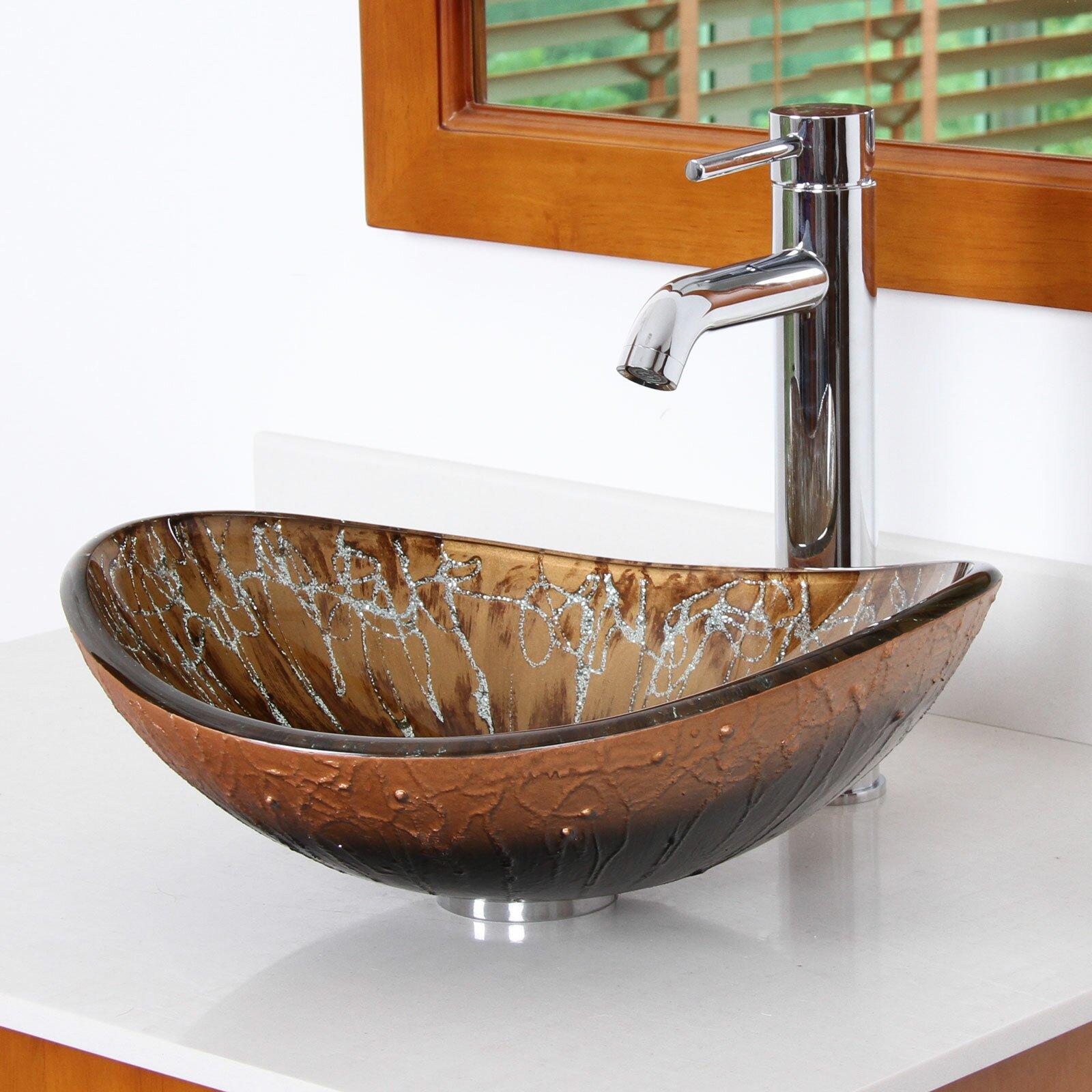 Bathroom sink bowl
