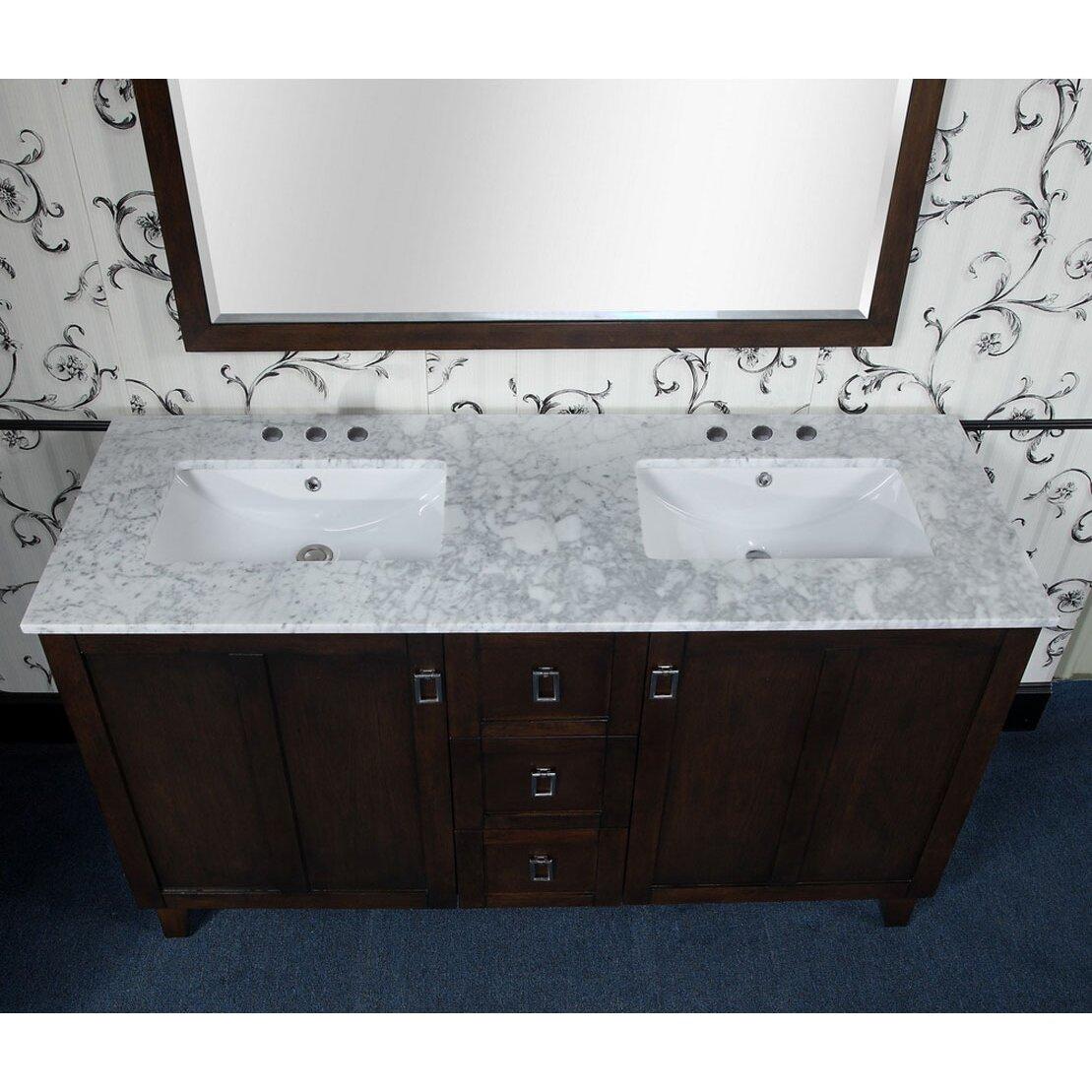 Bathroom vanities 60 single sink