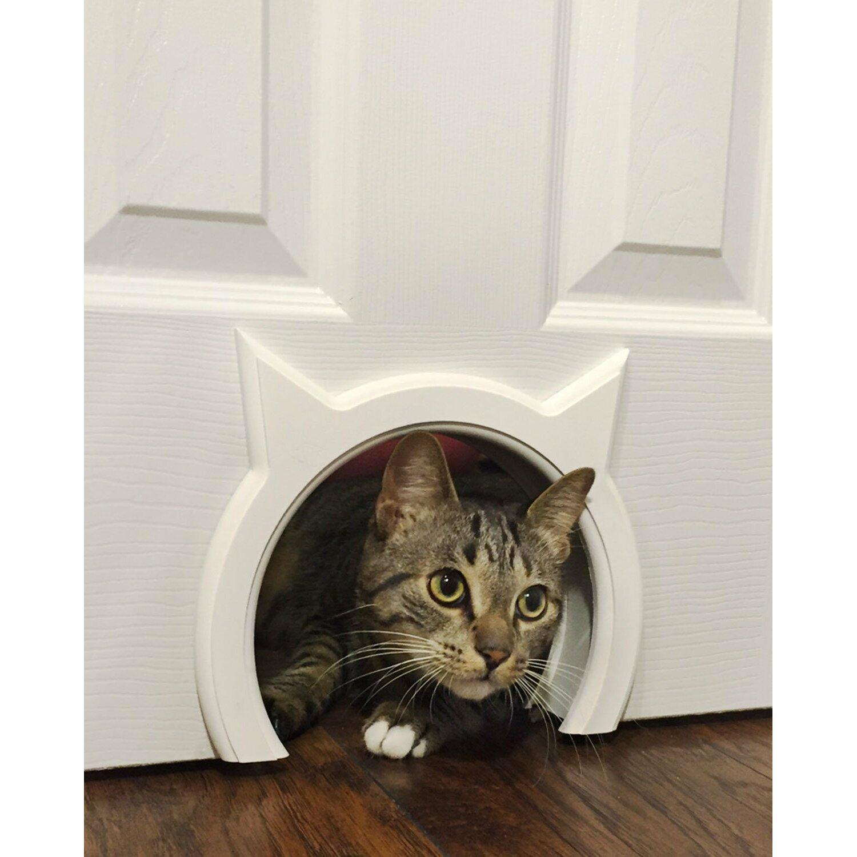 The-Kitty-Pass-Interior-Cat-Door-1002-123 Cat Doors For Interior Doors