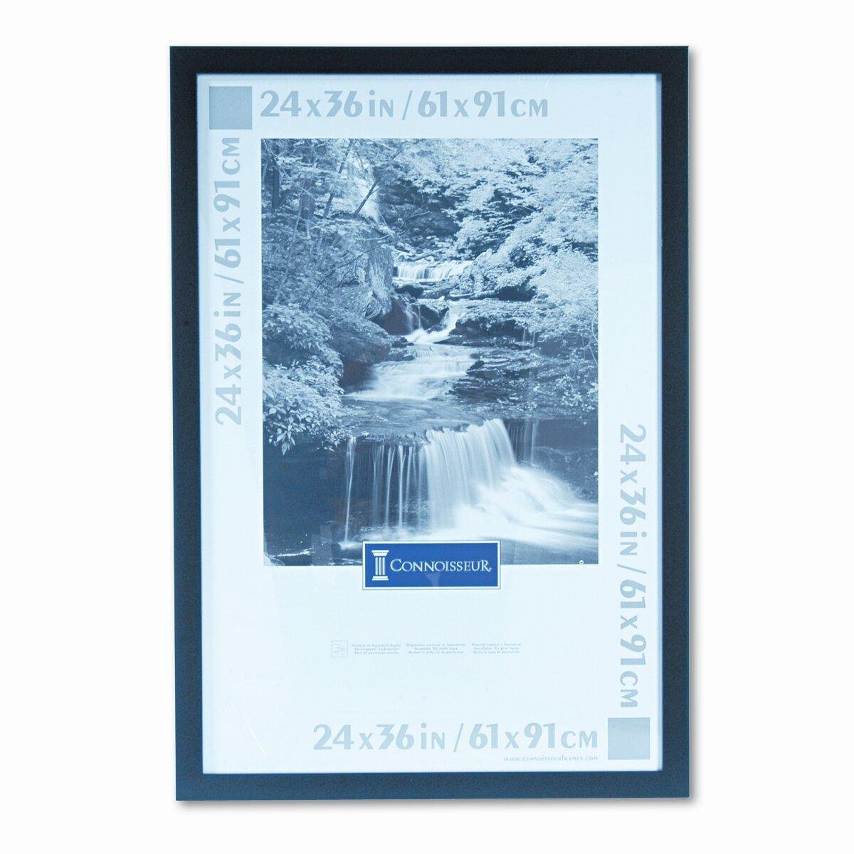 24x36 black poster frame