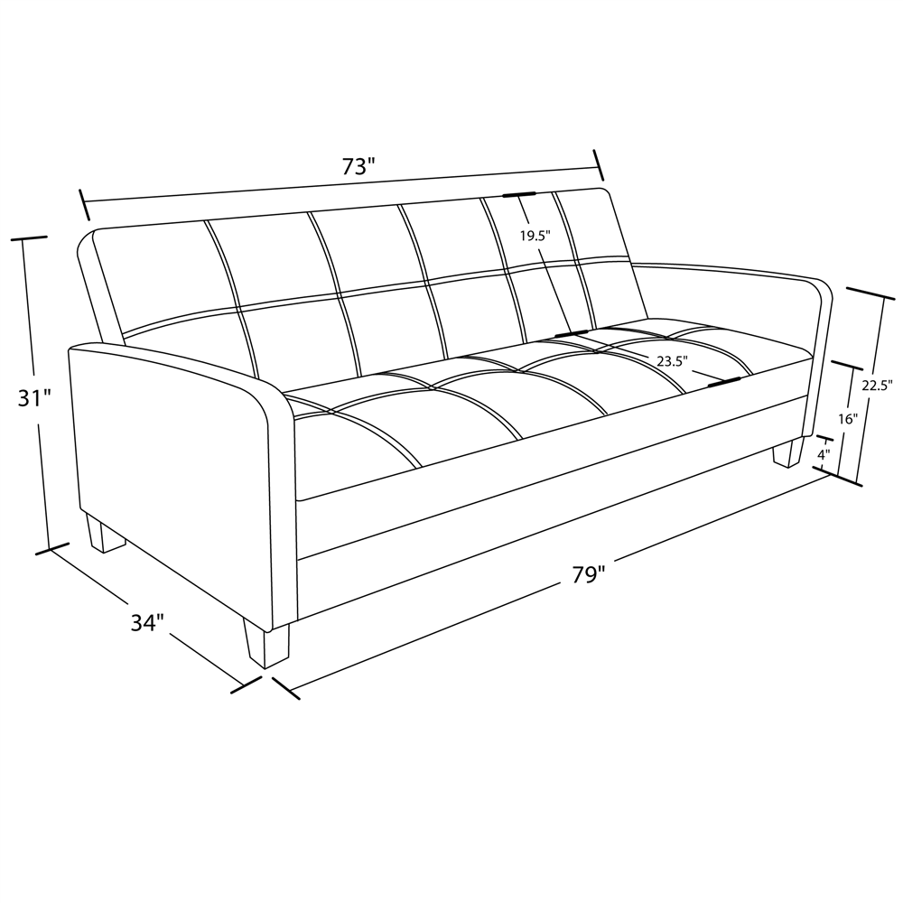 Home Cottage Style likewise DHP Delaney Sleeper Sofa DRL1368 moreover  on slipcovered sofa bed