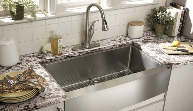 guide to kitchen sink styles wayfair