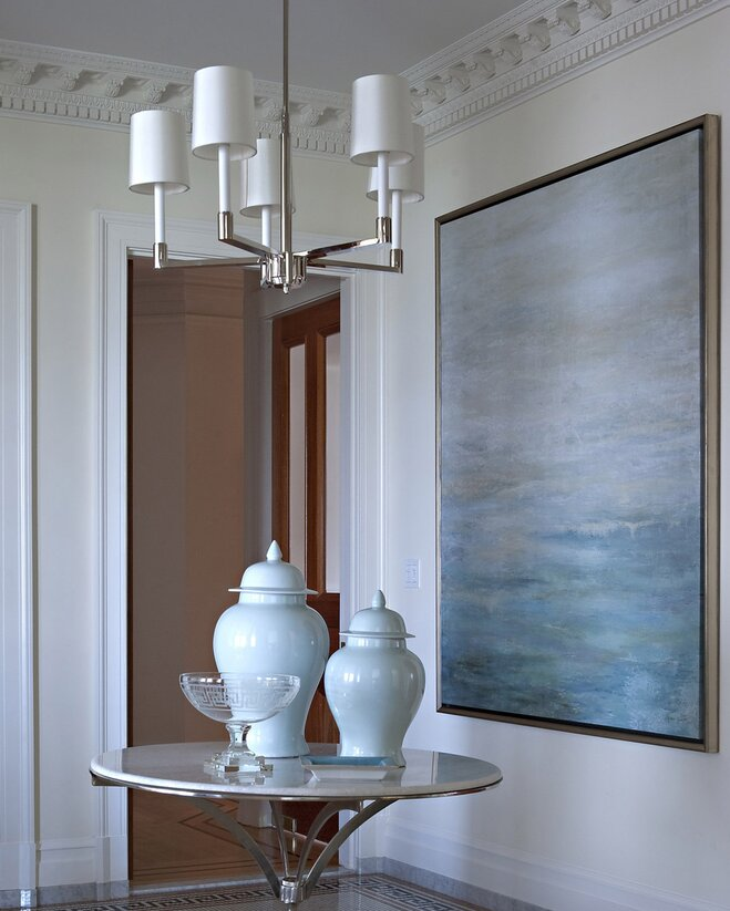 Foyer Lighting Guidelines : Chandelier size and placement guide wayfair
