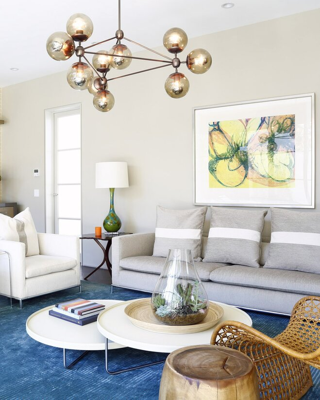 30 Live Edge Coffee Tables That Transform The Living Room: Chandelier Size And Placement Guide