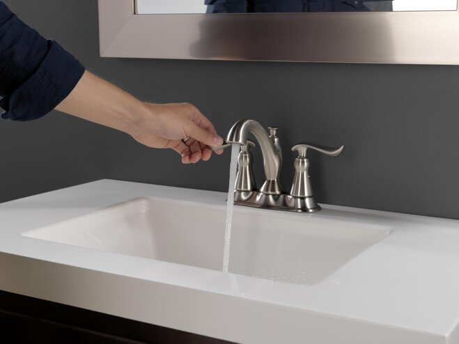 How to install a bathroom faucet wayfair - Installing a new bathroom sink faucet ...