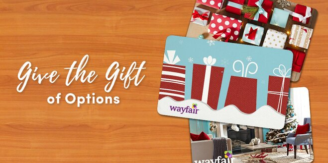 wayfair gift card the right way to give a gift card wayfair 3978
