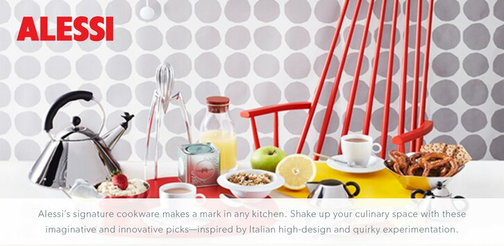 Alessi products allmodern shop alessi dinnerware and for Alessi outlet online