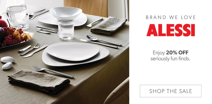 Alessi products shop alessi dinnerware and d cor online for Alessi outlet online