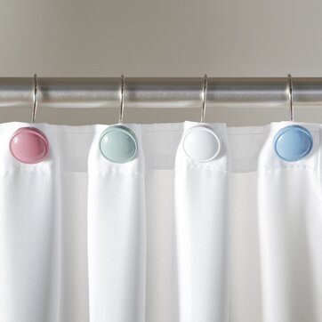 Shower Curtain Rods Hooks Birch Lane
