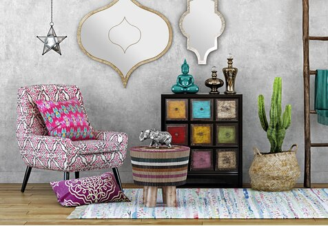 Boho-Eclectic Furniture & Finds