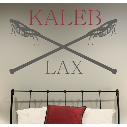 Alphabet garden designs personalized lacrosse name lax for Alphabet garden designs