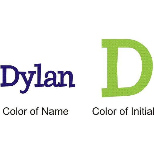 Alphabet garden designs personalized dylan 39 s preppy wall for Alphabet garden designs