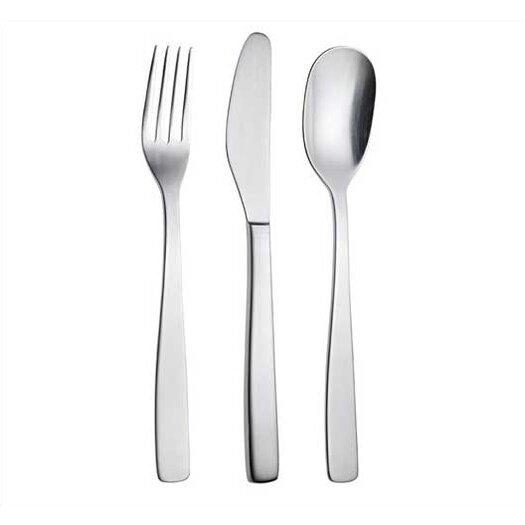 Alessi knifeforkspoon by jasper morrison 75 piece flatware set reviews allmodern - Alessi flatware sale ...