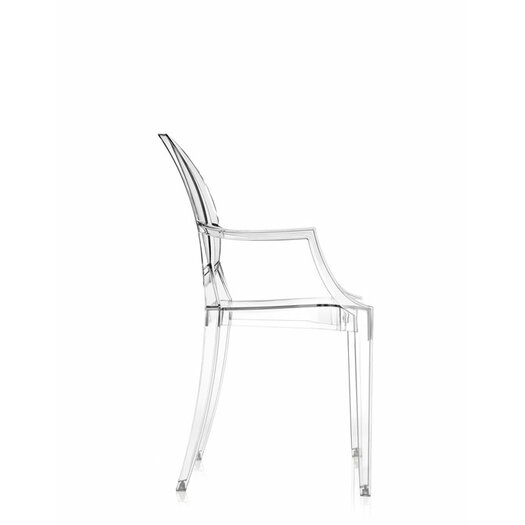 kartell louis ghost arm chair reviews allmodern. Black Bedroom Furniture Sets. Home Design Ideas