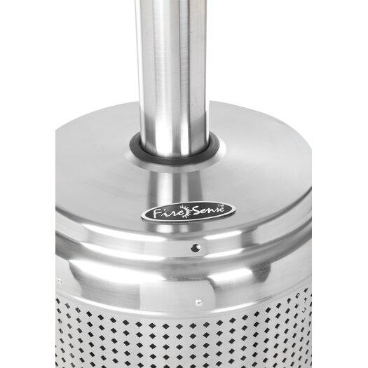 Fire Sense Stainless Steel Pro Series Patio Heater Reviews AllModern