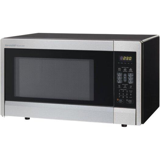 Sharp 1.1 Cu. Ft. 1000W Countertop Microwave & Reviews AllModern