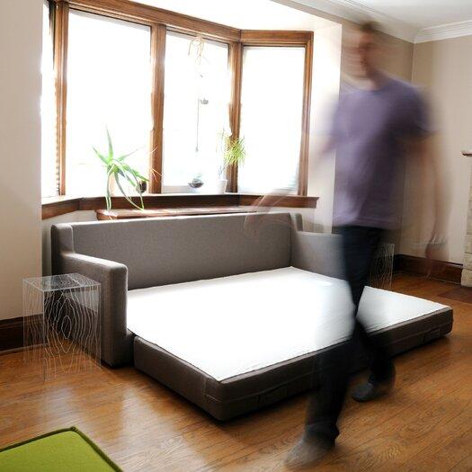 Gus modern flip sleeper sofa allmodern for Gus modern sofa bed