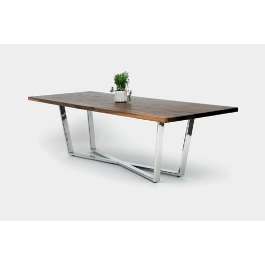Artless gax x dining table reviews allmodern for Table x reviews