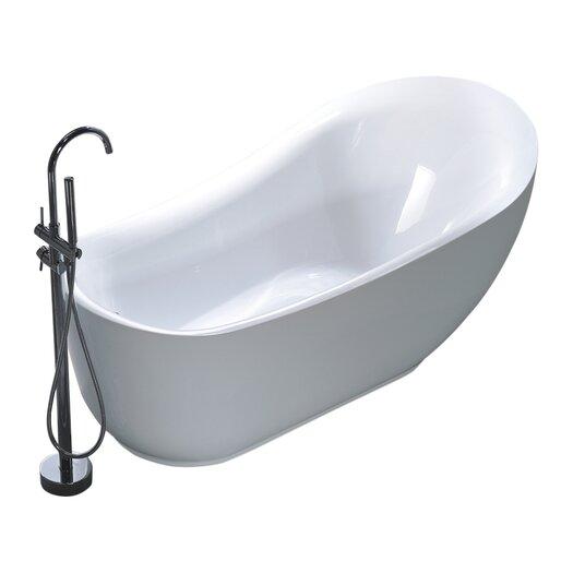 legion furniture 71 x 35 soaking bathtub reviews allmodern. Black Bedroom Furniture Sets. Home Design Ideas
