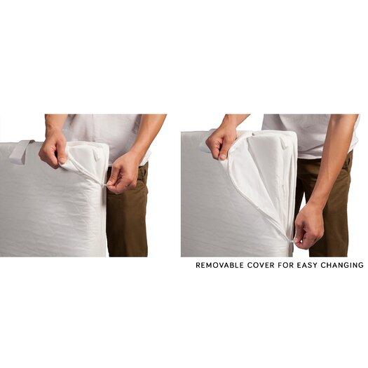 babyletto Pure Core Non Toxic Mini Crib Mattress with Dry