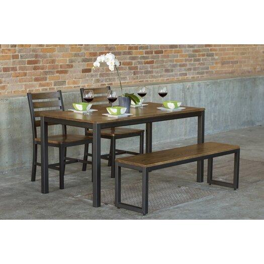 Elan furniture loft 4 piece dining set allmodern for 4 piece dining room set