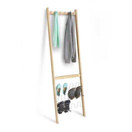 umbra leanera coat and shoe rack allmodern. Black Bedroom Furniture Sets. Home Design Ideas