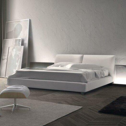 Pianca USA Vintage K Upholstered Platform Bed & Reviews ...