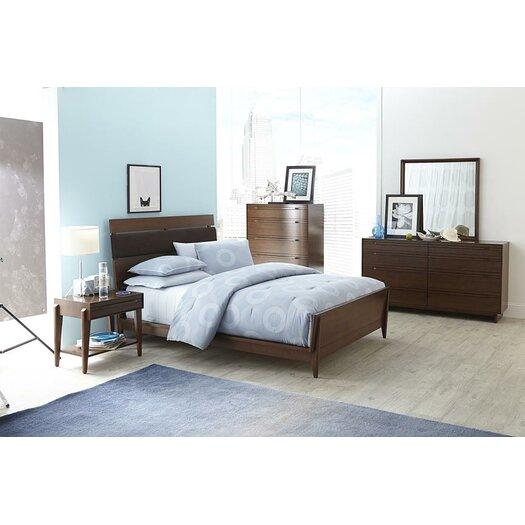 casana furniture company parallel panel bed allmodern