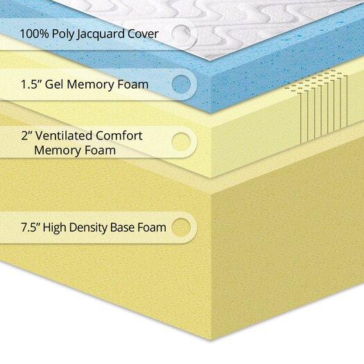 """Best Price Quality Best Price Quality 11"""" Gel Memory Foam"""