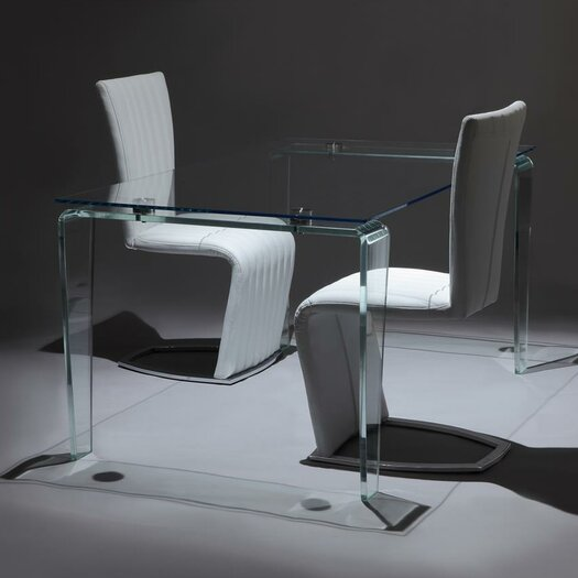 Creative furniture crystal dining table reviews allmodern for Creative dining tables