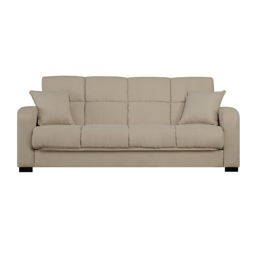 Andover Mills Richardson Full Convertible Sleeper Sofa