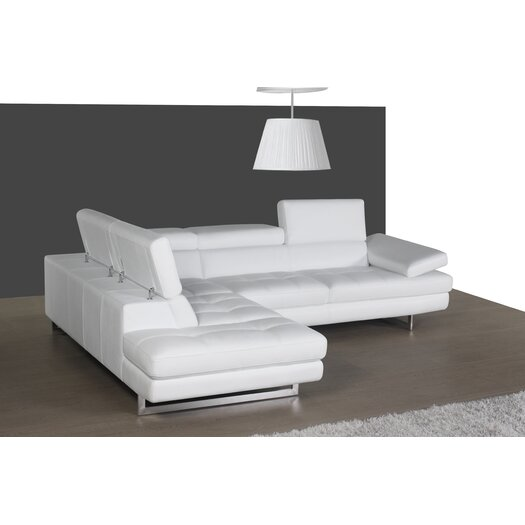 J m furniture matera sectional reviews allmodern for J furniture usa reviews