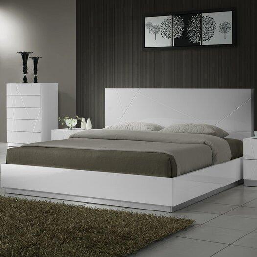 J M Furniture Naples Platform Bed Reviews Allmodern