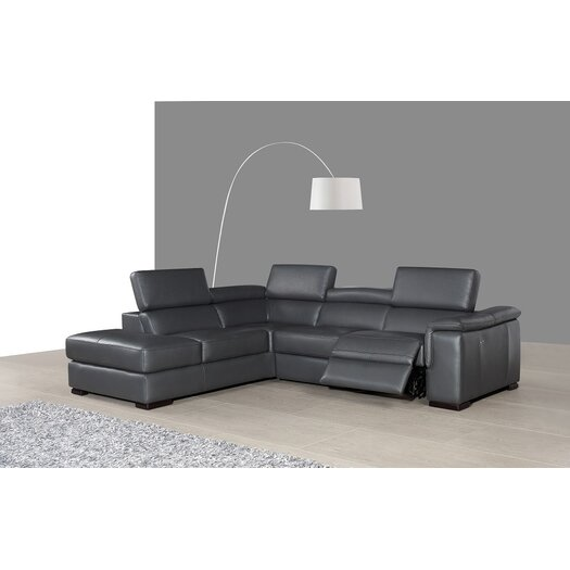 J m furniture agata premium leather sectional reviews for J furniture usa reviews