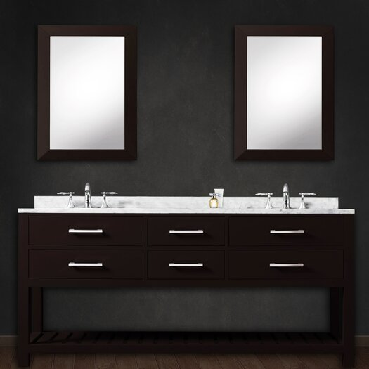 Dcor Design Creighton 60 Double Bathroom Vanity Set With Mirror Allmodern