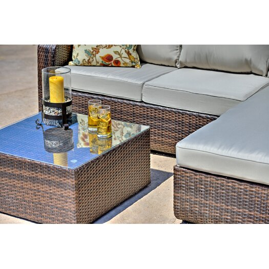 Mercury Row Amezcua 3 Piece Deep Seating Group With