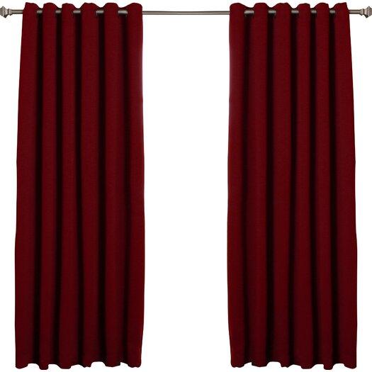 Best Home Fashion Blackout Curtains Single Panel