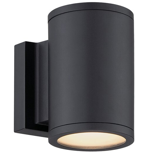 Modern Forms Tube 2 Light Outdoor Sconce & Reviews | AllModern