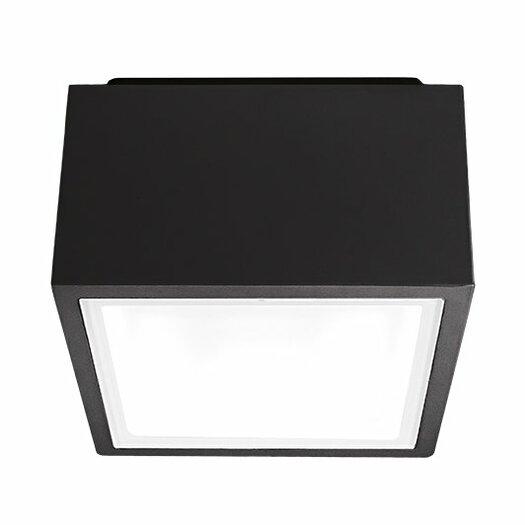 modern forms bloc 1 light flush mount allmodern
