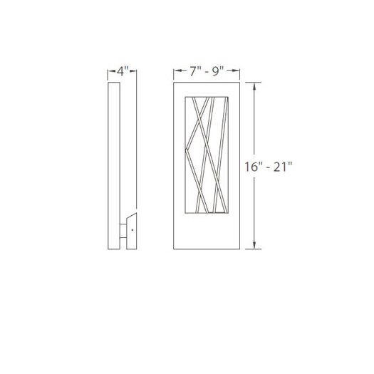 Modern Forms Twilight 1 Light Outdoor Sconce Allmodern