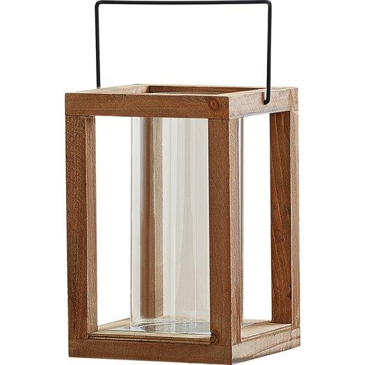 Loon peak rustic wooden garden lantern reviews allmodern for Wooden garden lanterns