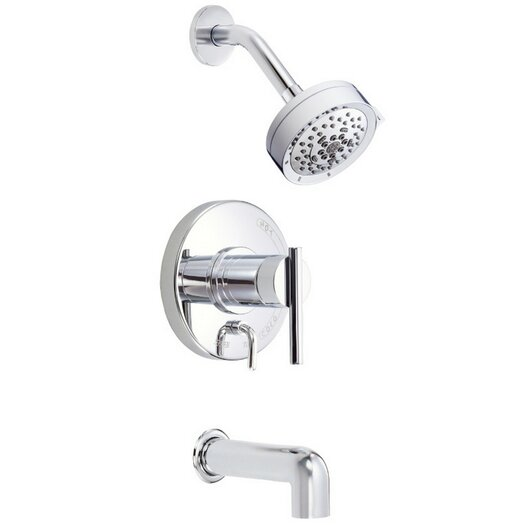 parma tub and shower faucet by danze for danze