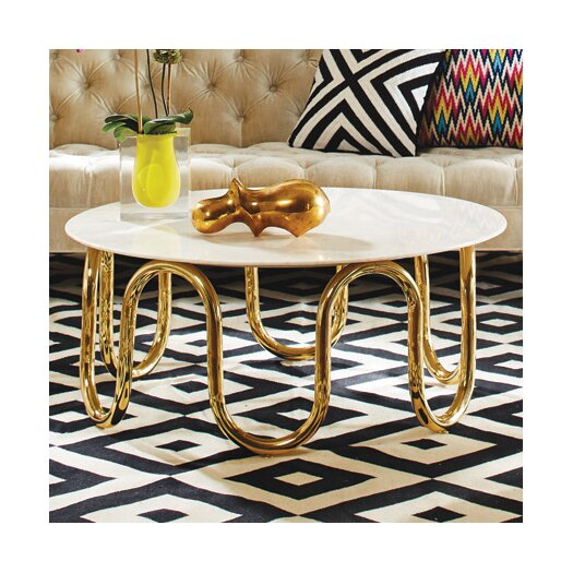 jonathan adler scalinatella coffee table reviews allmodern. Black Bedroom Furniture Sets. Home Design Ideas