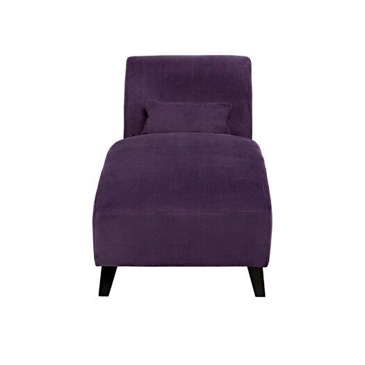 Handy living velvet chaise lounge reviews allmodern for Blue velvet chaise lounge