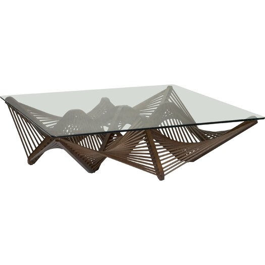 Oggetti Geo Coffee Table Reviews Allmodern: geo glass coffee table