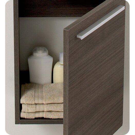 Fresca senza 16 single pulito small modern bathroom for All modern bathroom vanity