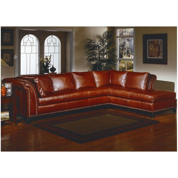 Omnia Leather Kingsley Sectional